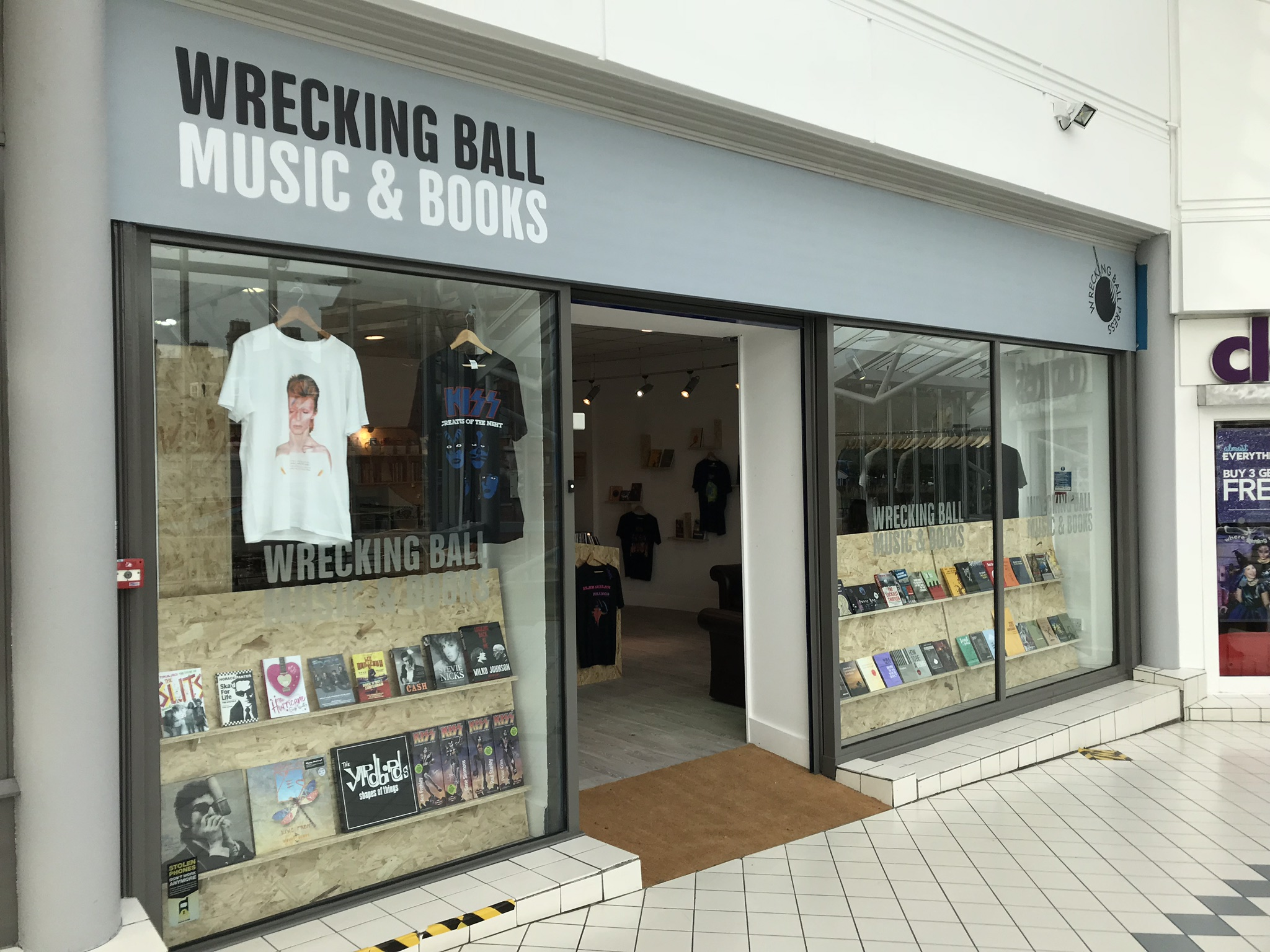 Wrecking Ball Music & Books Princes Quay